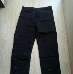 pants for men, winter, size xxxxL