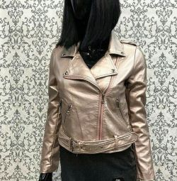 Leather jacket new leather jacket