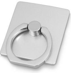 iRing - suport pentru inel pentru telefon, argint