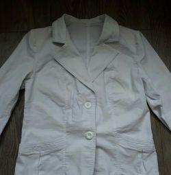 White jacket Size 52