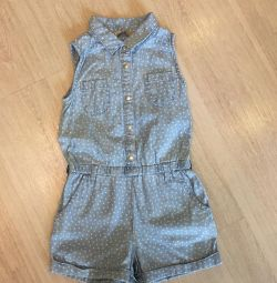 Overalls with lindex shorts