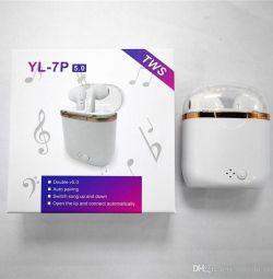 Căști wireless YL-7P 5.0 TWS Pr.