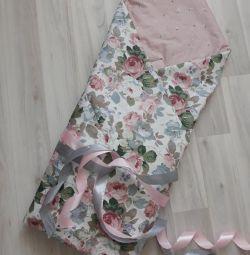Ekose / battaniye / boşaltma zarfı