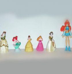 Фигурки принцесс Disney