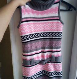 Rochie de pulover pentru fată
