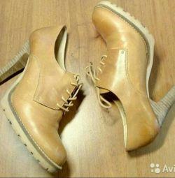 Ghete cizme din piele naturală 40 Bo
