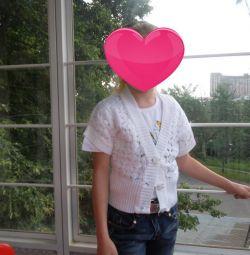 Bluză deschisă 7-11 ani