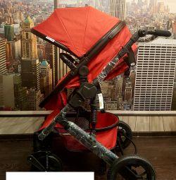 Детская коляска 2в1 утепленная новая