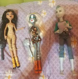 Monster high dolls. Cleo and Meowald