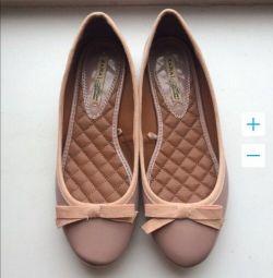 Pantofi de balet nou Zara p 37