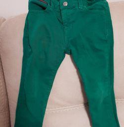 pantaloni pentru copii Tommy Hulfiger