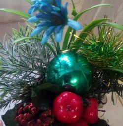Çiçek aranjmanı - bir kupa!