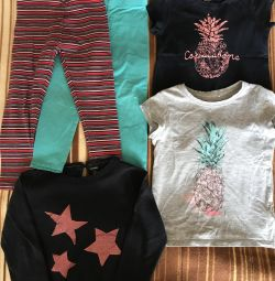 Ρούχα για κορίτσια 3-4 χρόνια. Μέρος 1