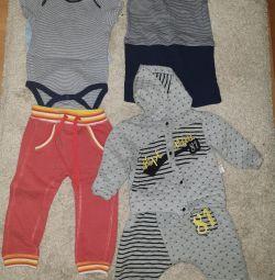 Πακέτο κομψά ρούχα για το μωρό