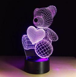 Λυχνία 3D (νυχτερινό φως) Ναυτιλία δωρεάν