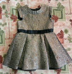 Κομψό φόρεμα, r.86 / 92/98