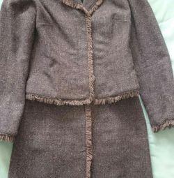 Costum cu fusta pentru femei