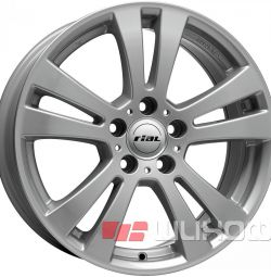 Колесные диски Rial DH 7x17 PCD 5x112 ET 47 DIA 66 Polar Silver