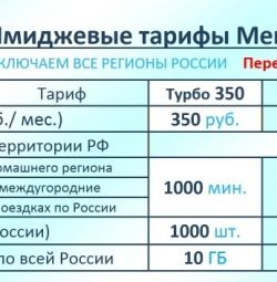 Tariff from megaphone turbo