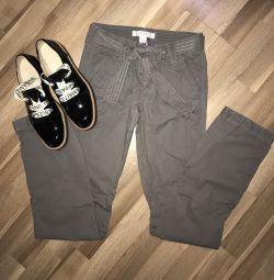 штани сірі