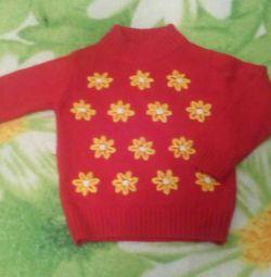 Μάρκα ζεστό πουλόβερ