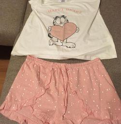 Pijamale pentru femei (nou) marca de siguranță pentru femei
