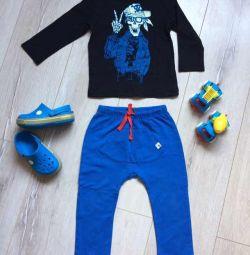 Лонгслив спортивные штаны Crocs C8