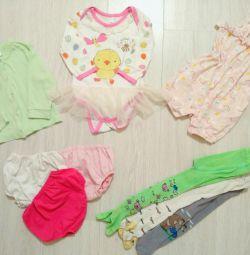 Bir kız için 12-18 aylık kıyafetler