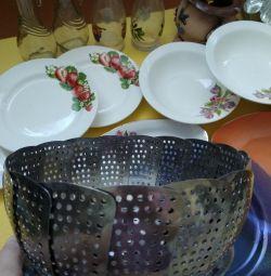 Пароварка, посуда