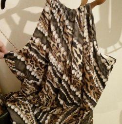 Κατερίνα Λέμαν. Ιταλία. Φόρεμα σε ελληνικό στυλ.