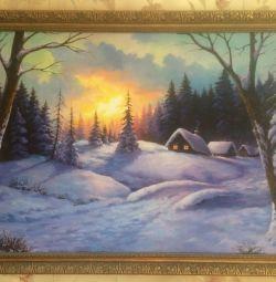Pictura de iarnă