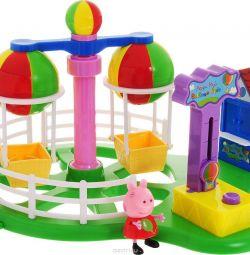 Caruselul Peppa Pig Luna Park