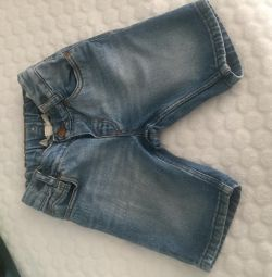 Denim breeches on the boy
