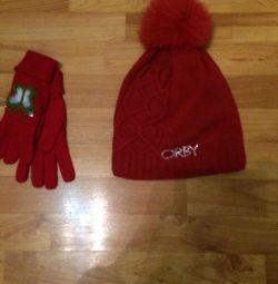 Orby καπέλο συν γάντια