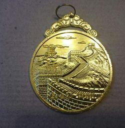 медаль Китай