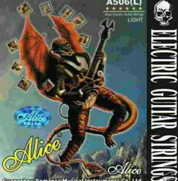 Electric Guitar Strings Alice A506-L