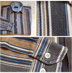 Το πουκάμισο του ποταμού 48-50 100 βαμβάκι είναι πυκνό