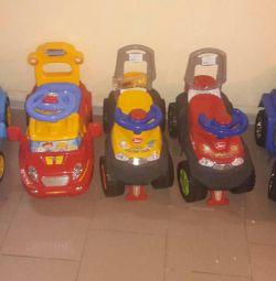 Νέες μηχανές tolokara