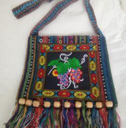 Прикольная сумка в этно стиле