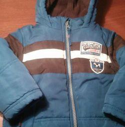Jachetă caldă de până la 2,5 ani