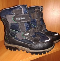 cizme de iarna kapika pentru un mod