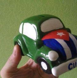 Piggy bank in the Cuban style