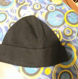 Men's cap on fleece