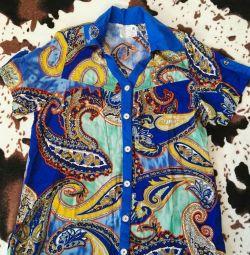 Блузка рубашка женская новая р-р 52