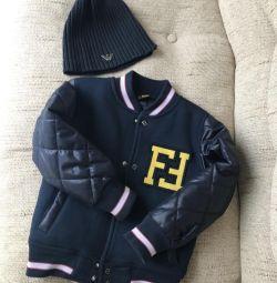 Куртка-бомбер Fendi, 2-3 года