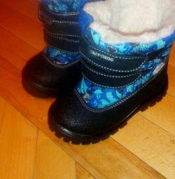Ορθοπεδικές χειμερινές μπότες σε δέρμα προβάτου