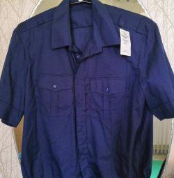 Military man's shirt