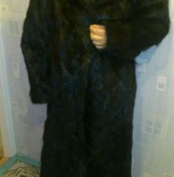 Fur coat size 54-56 new