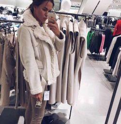 Koyun derisi ceket Cheburashka ZARA