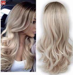 New blond wig